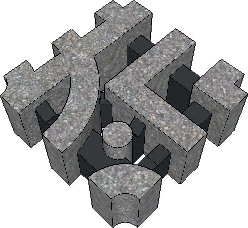 Dalle cespes - Dalle gazon beton ...